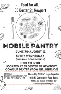 image of Mobile Food Pantry Flyer