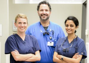 Doctors Krestos, Ott, and Patel